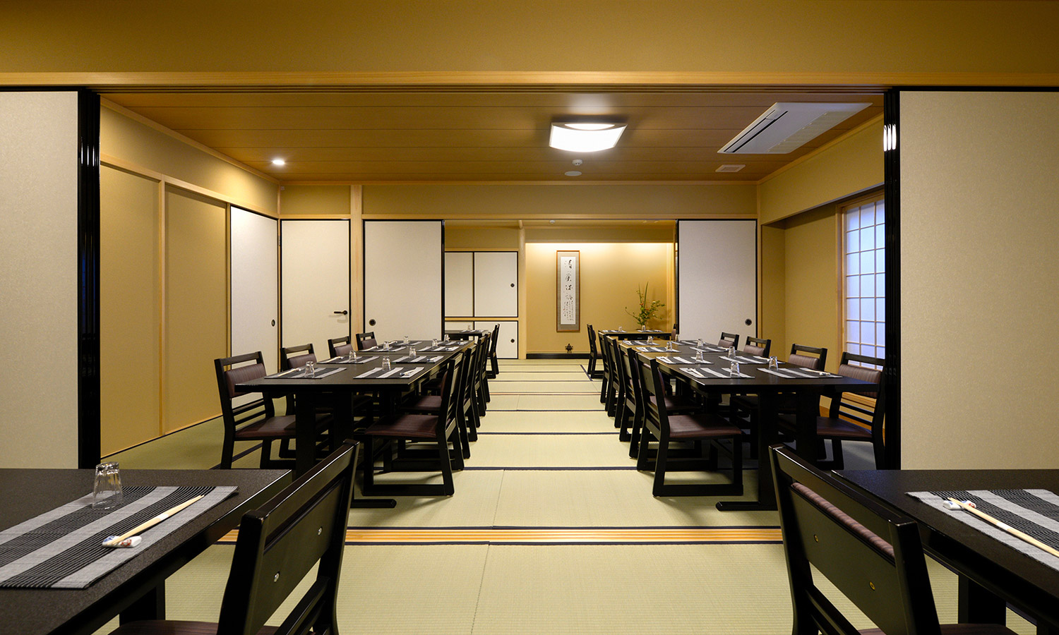 THE SHOROKU ROOM・THE SETOUCHI ROOM・THE CHOSEIAN ROOM